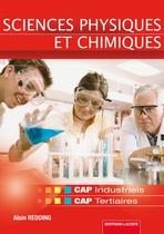 Sciences physiques et chimiques CAP   CAP industriels et tertiaires