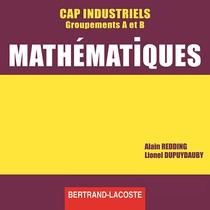 CD professeur Mathématiques CAP industriels Groupements A et B