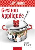 Gestion appliqu�e CAP Cuisine