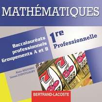 CD professeur Mathématiques   Première professionnelle   Baccalauréats professionnels Groupements A et B