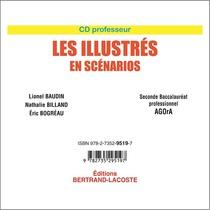CD professeur Les illustrés en scénarios Seconde Baccalauréat professionnel AGOrA